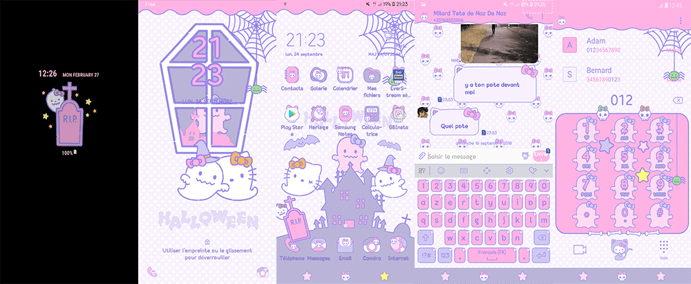 Hello kitty facebook and messenger themes (how to fix app not.