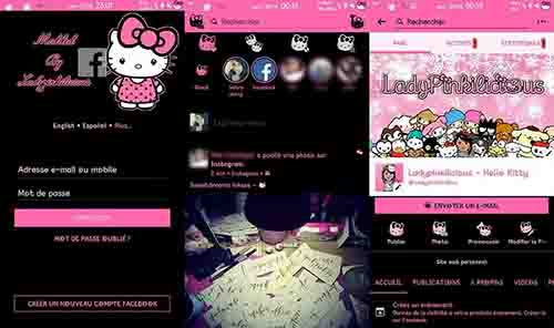 Hello Kitty Facebook & Messenger – Ladypinkilicious