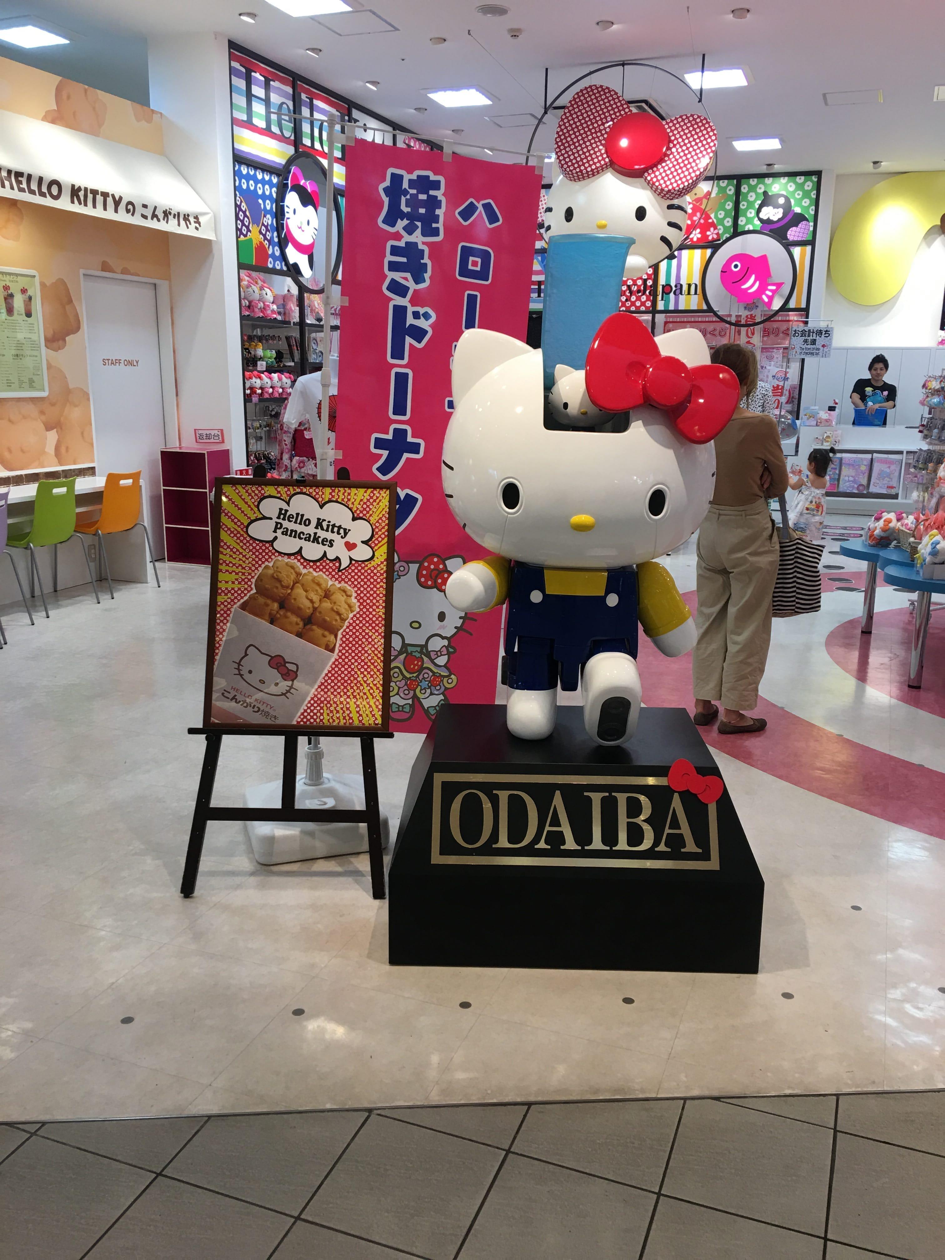 Hello Kitty Japan In Odaiba
